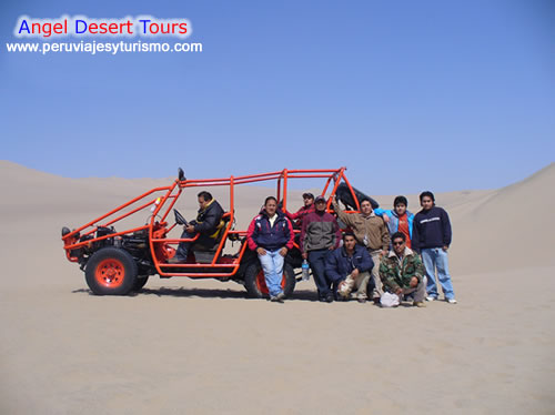 Tours en buggies tubulares en Ica